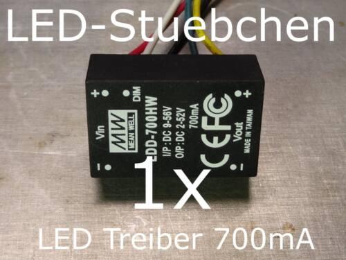 LDD-700 HW LED DC//DC Konstantstromquelle 700mA LED-Treiber step-down