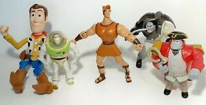 Disney Character Figure LOT Of 5 Disney Hercules/Toy Story/ Mulan