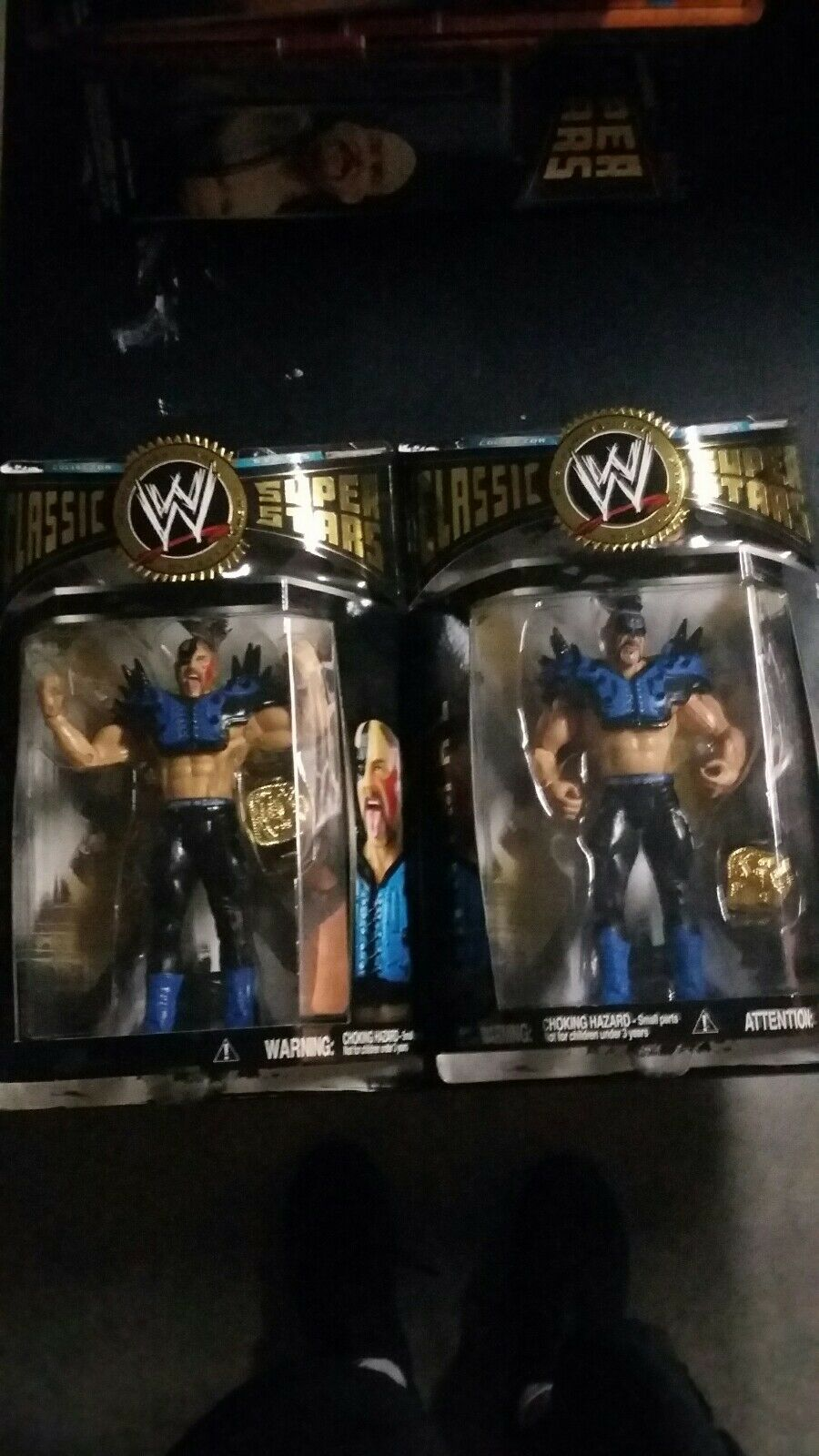 WWE Classic Superstars Animal And Hawk LOD Action Figure MINT-IN-BOX