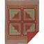 GATLINBURG-QUILT-SET-choose-size-amp-accessories-Log-Cabin-Block-Red-VHC-Brands thumbnail 2