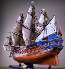 "WASA 40"" wood model ship large scaled VASA Sweden sailing boat"