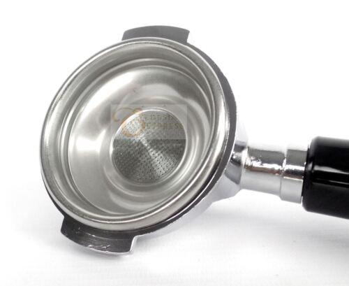 Siebträger für BRUGNETTI Espressomaschinen 1 Auslauf 7 g Sieb