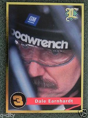 Dale Earnhardt Sr. _very Rare Gold #3 _ 2001 Legends Card _ 1 Of 10,000 ..f Con Una ReputacióN De Larga Data