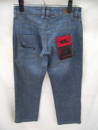 BNWT Girls Sz 14 Tony Hawk Brand Denim Wash Jeans RRP $102