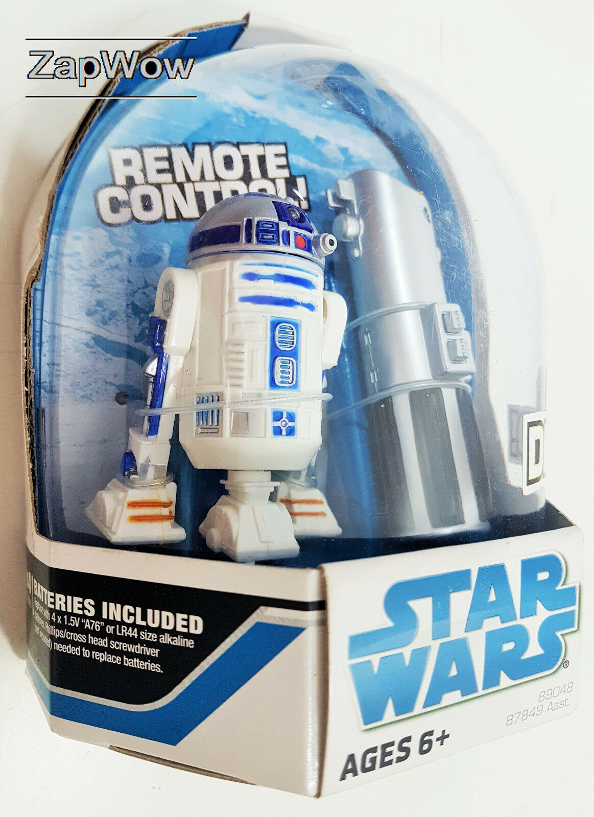 Star Wars R2-D2 2008 RC Droid 3.75  peonías detoo objetivo exclusivo Hasbro 2000s