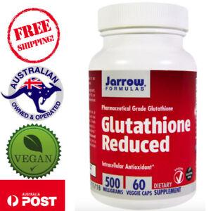 Jarrow-Formulas-Glutathione-Reduced-500-mg-60-Vegan-Caps-Gluten-Free-Non-GMO