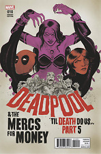 DEADPOOL AND MERCS FOR MONEY #10 CROOK POSTER VARIANT MARVEL COMICS
