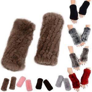 Newest-Fashion-Ladies-Real-Rabbit-Fur-Hand-Wrist-Warmer-Fingerless-Winter-Gloves