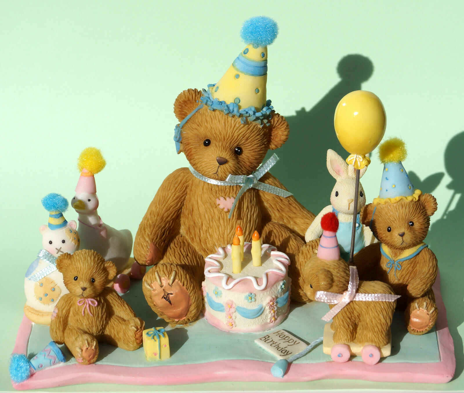 Cherished Teddies -  A Special Birthday Celebration  - NEU - Rarität - 4015562