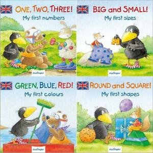 Erstes-Englisch-lernen-fuer-Kinder-Learn-with-the-little-Raven-and-his-friends