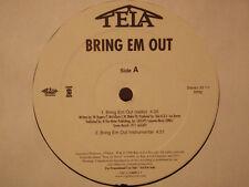 "TELA + TOO $HORT - BRING EM OUT / B.I.G.P.I.M.P.S.I.S.I. (12"")  1998!!!  RARE!!!"