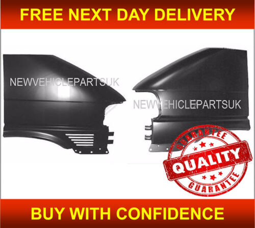 Vw Transporter T4 1997-2003 Front Wing Primed Left And Right Bolt On Type Vented
