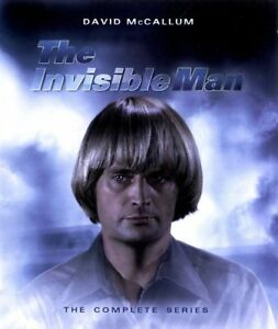 Blu-Ray-THE-INVISIBLE-MAN-the-complete-series-David-McCallum-All-Regions-New