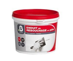 ENDUIT-DE-BOUCHAGE-PATE-1-KG-rebouchage-reparer-trou-fissures-toutes-tailles