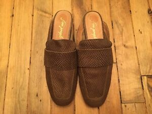 FREE-PEOPLE-SNAKE-LEATHER-MULE-SHOES-NWOB-SIZE-7-7-5-38