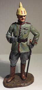 Figurine King & Country's Wwi Officier Allemand Avec Jumelle Fw011