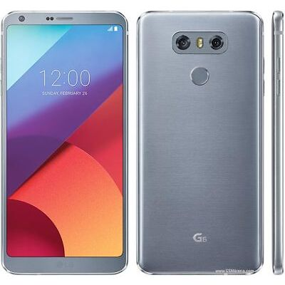 "5.7"" LG G6 H872 GSM T-Mobile Unlocked 32GB (Dual 13MP) 4G Android Smartphone"