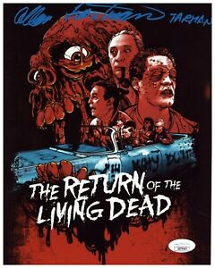 Allan Trautman Autograph Signed 8x10 Photo - Return of the Living Dead (JSA COA)