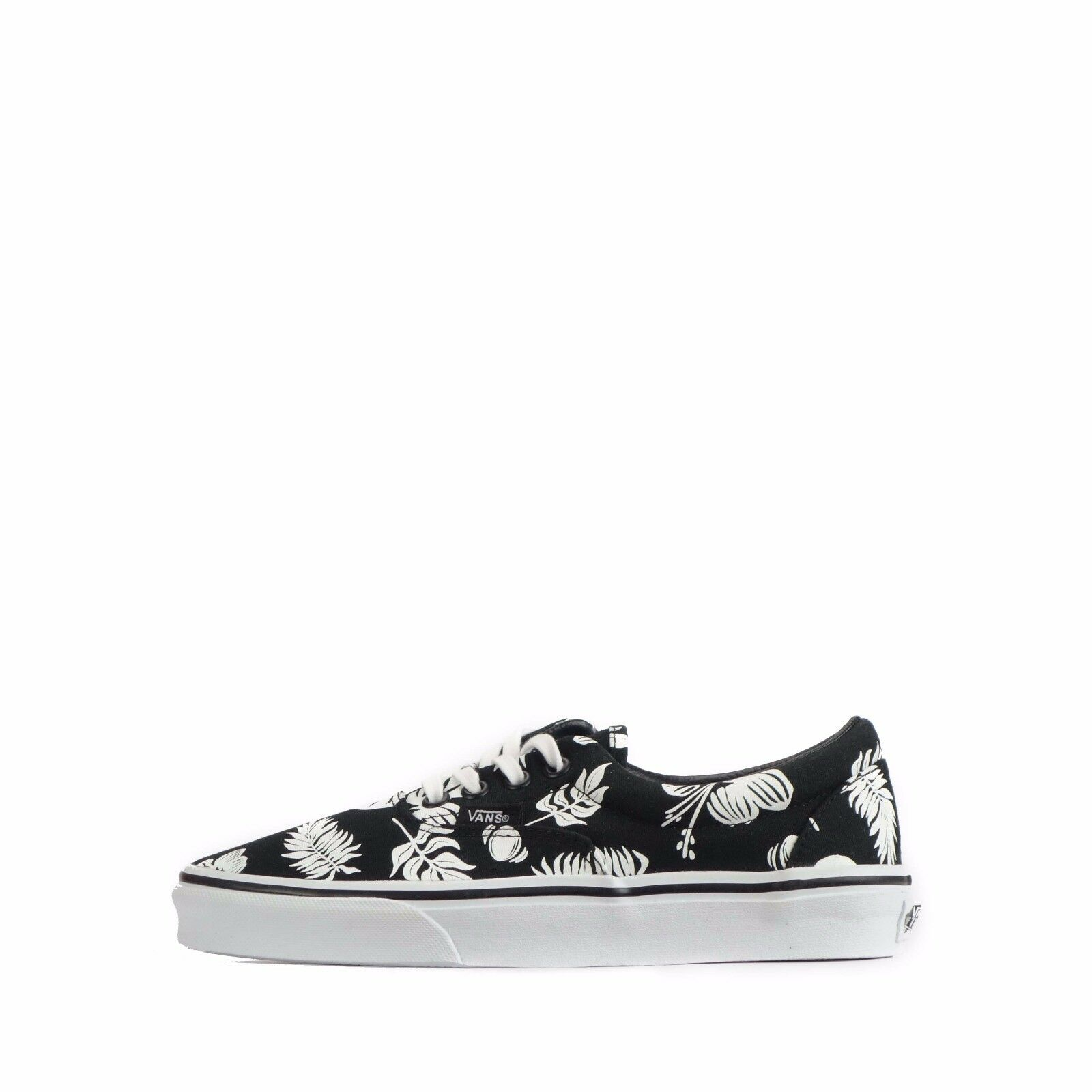 Van's Era (MLX) Floral Unisex shoes Tropicoco Black