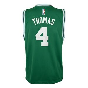 8f0f50bcfe2 Isaiah Thomas NBA Boston Celtics Road Green Player Replica Jersey ...