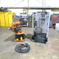Kuka Kr 16 Robot With Krc2 Control Cabinet Teach Pendant Amp Cables 20 Hours