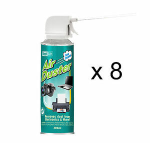 8-x-400ml-Compressed-Air-Duster-Cleaner-Spray-Can-Canned-Laptop-Keyboard-Mouse