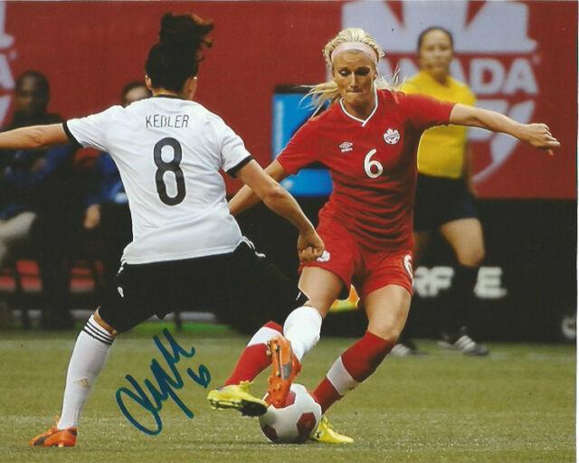Team Canada Kaylyn Kyle Autographed Signed 8x10 Photo COA B
