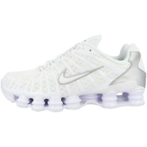 Details zu Nike Shox TL Schuhe Herren Sneaker Laufschuhe Turnschuhe white silver AV3595 100