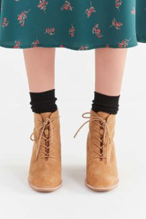 NEW Jeffrey Campbell boot Talcott Lace Up Ankle boot Campbell Größe 7.5 MSRP: 179 ac10d5