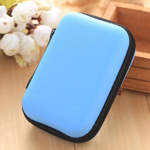Datenkabel USB-Aufbewahrungstasche Ladegerät Halter Box Portable Headset Easy