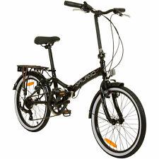 Folding Bike 20 Inch Collapsible Tire City Galano Metropolis Campingrad