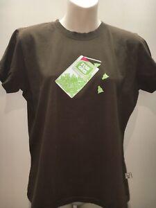 ffece03ad84 Mooks Brown Short Sleeve Crew Neck Vintage T-Shirt Top Size US L Fit ...
