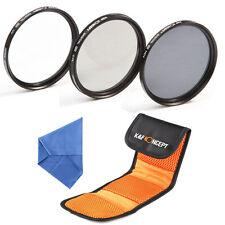 62mm UV CPL ND4 Filter Kit Polarizing Neutral Density For Sigma Tamron Sony