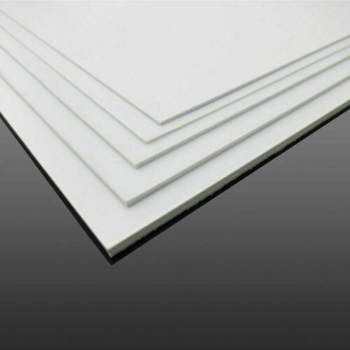 1mm-4mm White ABS Plastic Sheet Panel DIY Model Craft Thick Plate Craft Tool
