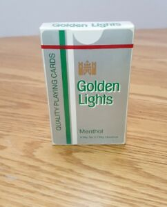 Golden-Lights-Menthol-Cigarettes-Sealed-Deck-Vintage-Playing-Cards-Lorillard