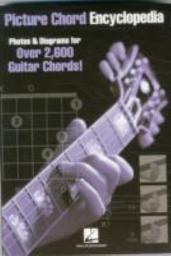 Instrument Instruction  Guitar Chord And Scale Bks   Picture Chord Encyclopedia   Photos And
