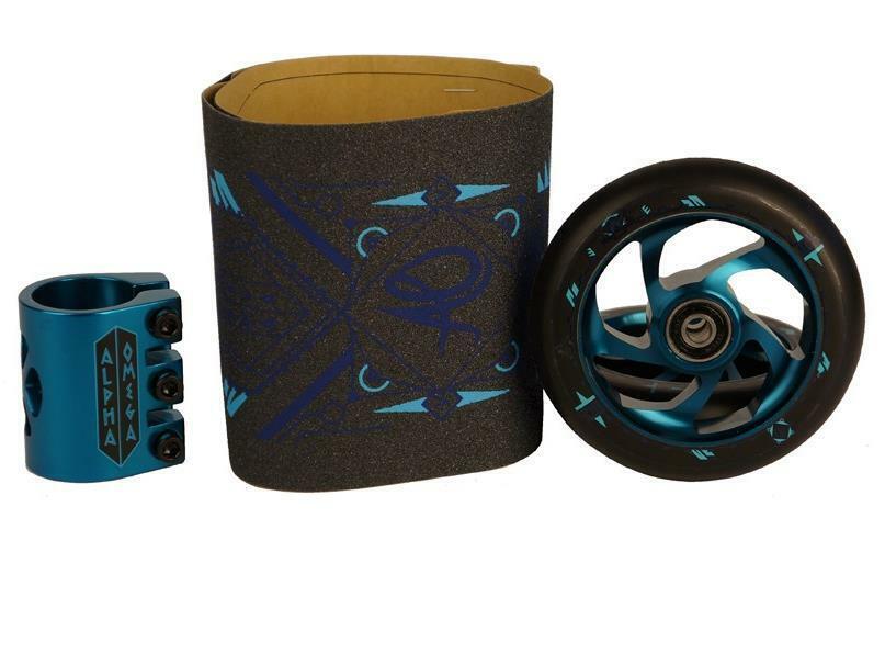 Ao Scooter Delta Linear Juego de Atrofiar Scooter-Teilen Azul