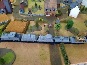 BOLT ACTION catena di comando 28mm 1 TRENO BLINDATO Carro o di una locomotiva