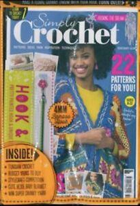Simply Crochet Magazine Issue 80 W Bonus Gift New In Sealed Pack