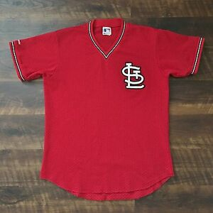 buy popular 65622 ab310 Details about St. Louis Cardinals Vintage Majestic MLB Baseball Jersey '80s