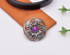 10X-Bohemian-3D-Flower-Turquoise-Conchos-For-Leather-Craft-Keychian-Wallet-Decor miniatuur 49