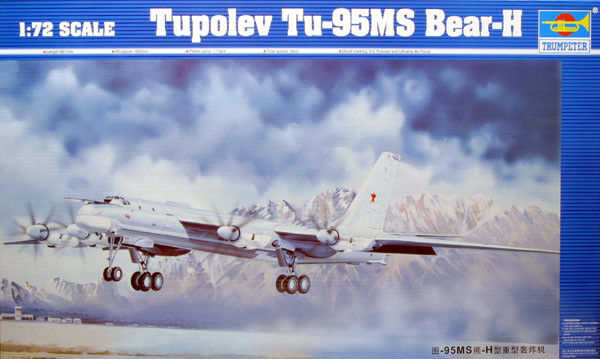 Trumpeter 1 72 Tupolev Tu-95MS Bear-H