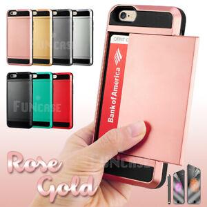 Card-Pocket-Slide-ShockProof-Slim-Wallet-Case-Cover-for-Apple-iPhone-5-6-6S-Plus
