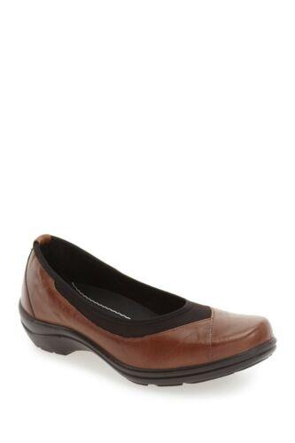 ROMIKA /'Cassie21/' Wedge Flat Shoes NIB Brandy