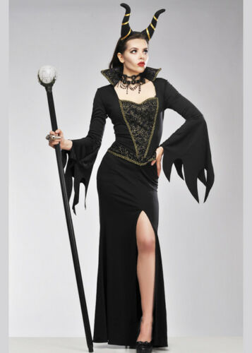 Maleficent Style Evil Enchantress Costume