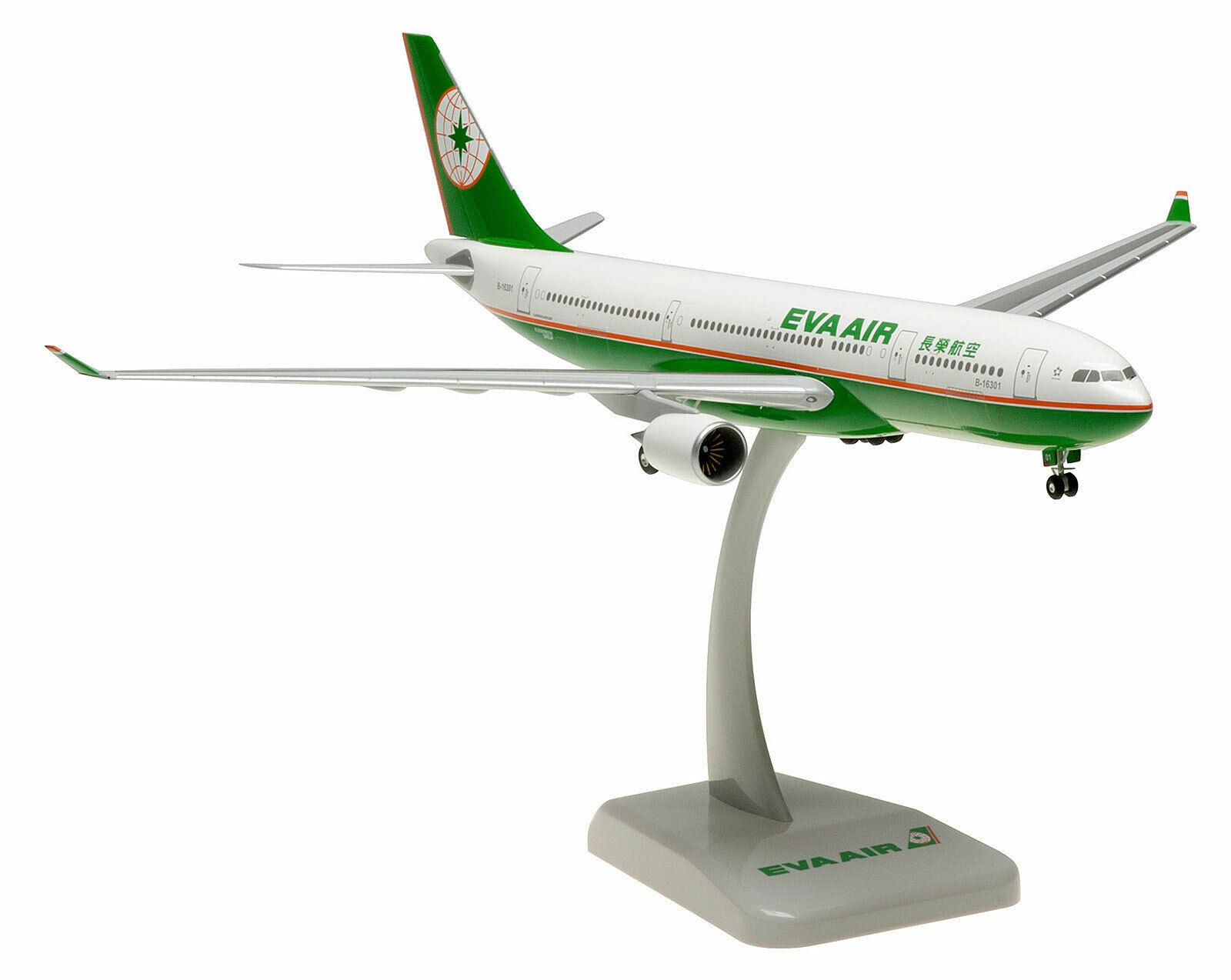 EVA Air-Airbus a330-200 - 1 200 - HOGAN Wings aereo modello 0458 a330 b-16301