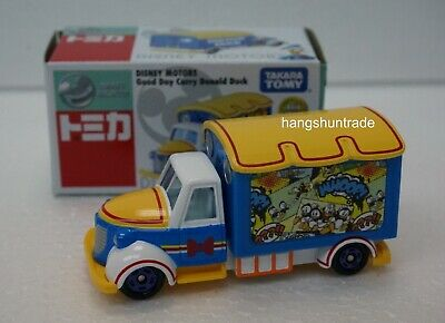 Takara Tomy Tomica Disney Motors Good Day Carry Donald Duck Vehicle Asia Limited