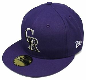MLB-New-Era-Colorado-Rockies-Purple-59Fifty-City-Flag-Fitted-Hat-Cap-Size