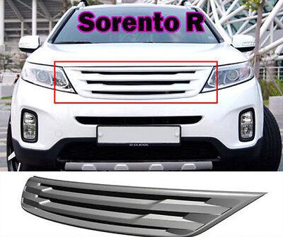[Kspeed] (Fits: KIA 2014+ Sorento R) White Collar radiator sporty grille