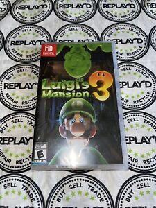 Luigi's Mansion 3 Standard Edition - Nintendo Switch Brand New Sealed